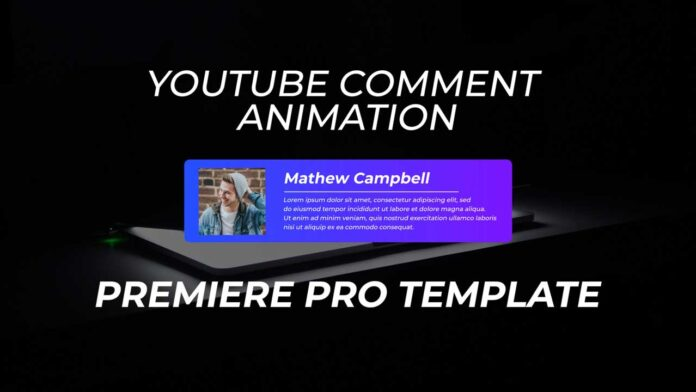 YouTube-Comment-Animation