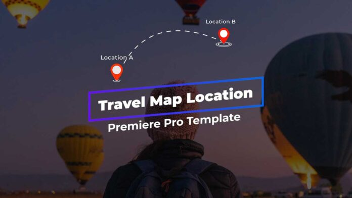 travel-Map-Location-template